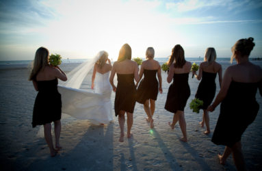 beach wedding photographer florida