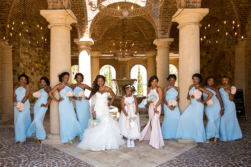 bella collina bridesmaids