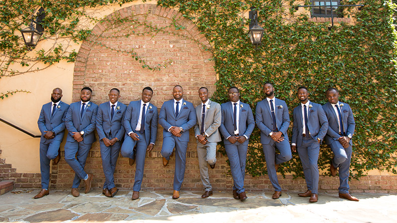 bella collina groomsmen